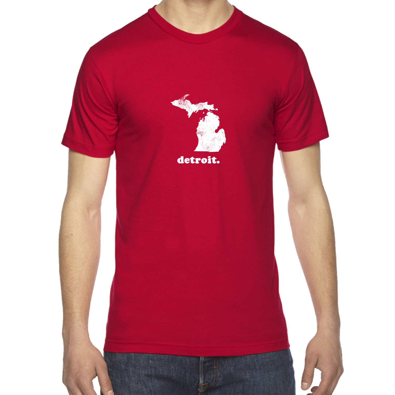 Mens mi michigan home state detroit city pride vintage for Michigan state t shirts vintage