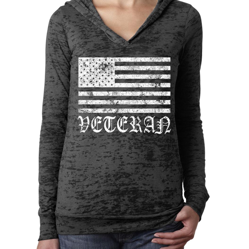 WOMENS-STANDARD-US-USA-AMERICAN-FLAG-VETERAN-WAR-FIGHTER-BURN-OUT-HOODIE